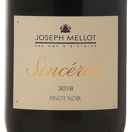 """Joseph-Mellot-""""Sincerite""""-Pinot-Noir-2018"""