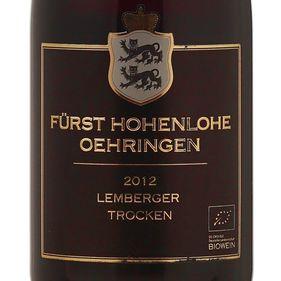 Furst-Hohenlohe-Oehringen-Lemberger-Trocken-2012--Organico-
